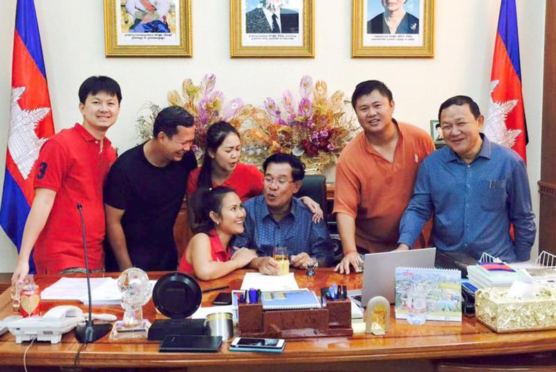 洪森家族反击贪腐指控