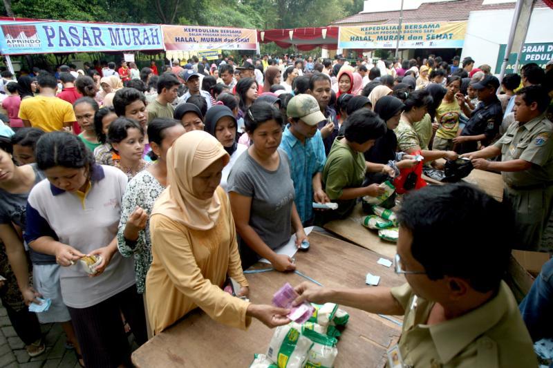 印尼贫富难以逾越的鸿沟