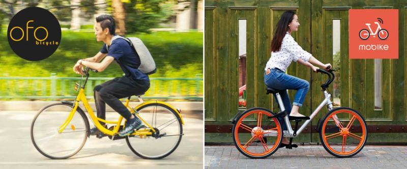 中国共享单车狂潮改变生活方式迈向国际