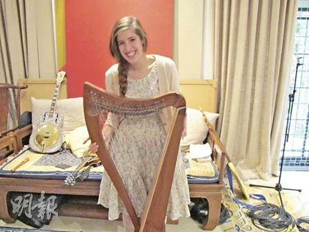 Anna the harpist