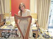 Anna the harpist