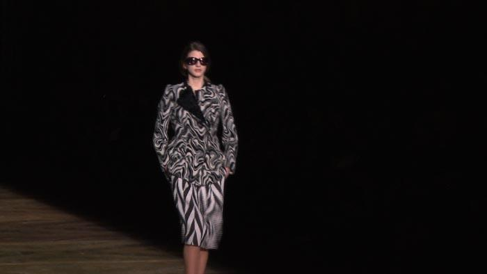 Dries Van Noten Fashion Show - Autumn Winter 2011/12 (法新社)
