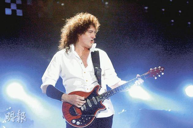 Brian May in concert.(file photo)