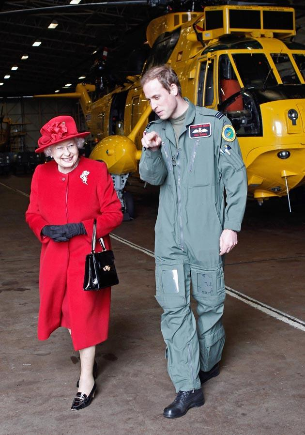 Prince William pays personal tribute to the Queen. EPA PHOTO.
