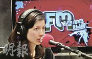 Having a radio broadcast session in Holland!(photos by Emma-Lee Moss)