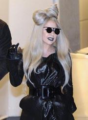 A file picture dated 20 December 2011 shows US singer Lady Gaga arriving at Narita International Airport, near Tokyo, Japan. EPA Photo.