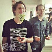 Ben and his band mate, Bear.