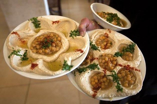 Various types of hummus dishes. (AFP Photo)