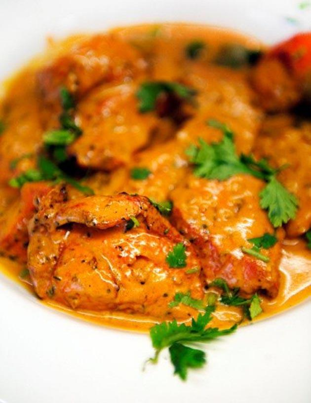 A plate of chicken tikka masala.  (AFP Photo)