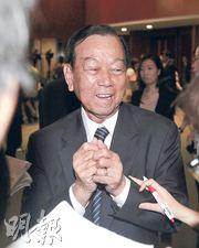 劉皇發去年度「零動議、少發言、少投票」,21年來更未曾提出任何動議,成為「三低議員」。(葉家豪攝)