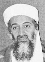 恐怖分子Osama bin Laden