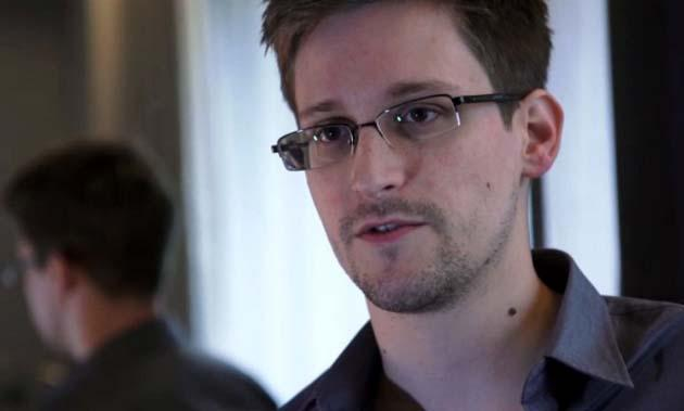 This still frame grab recorded on June 6, 2013 and released to AFP on June 10, 2013 shows Edward Snowden, who had been working at the National Security Agency for the past four years, speaking during an interview with The Guardian newspaper at an undisclosed location in Hong Kong. (AFP Photo/The Guardian)