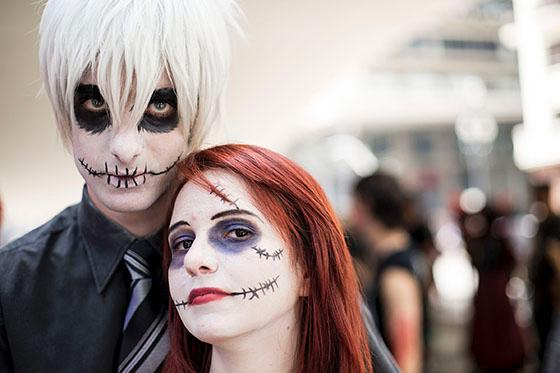 "Residents took part in a ""Zombie Walk"" held in the framework of the commemoration of the Day of the Dead, in Sao Paulo, Brazil, on Nov 2, 2013. (Xinhua Photo)"