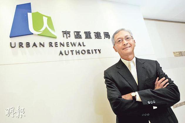 市建局主席蘇慶和上任近一年,他去年接受本報專訪時曾表示,市建局有需要加快重建步伐。(資料圖片)
