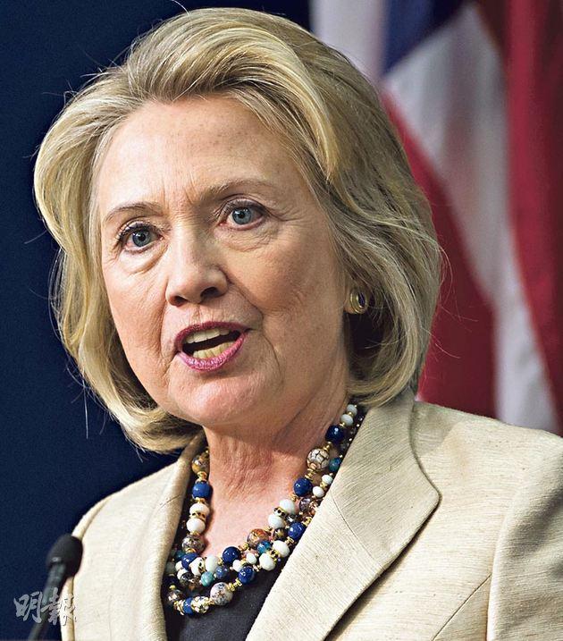 希拉里表示仍未決定是否參選下屆總統,但不少人已認定她是民主黨的「預定候選人」。