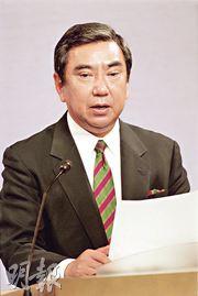 日本前內閣官房長河野洋平