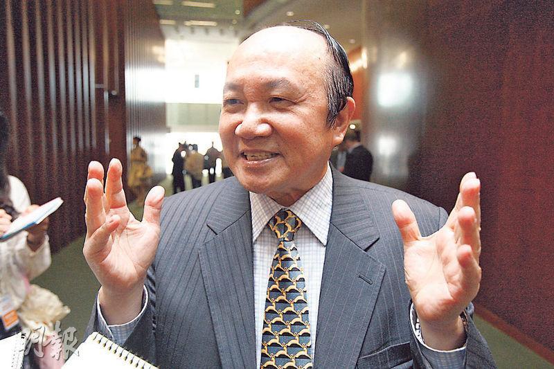 立法會前金融服務界 議員 詹培忠