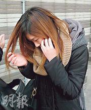 美容師鄭慧蓉(圖)為事主敷面膜及做針清療程,被事主指有份加入游說購買身體療程。事主更指被疲勞轟炸後,較預定時間遲兩小時才離開美容院。(何偉畧攝)