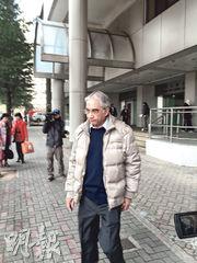印度裔退休漢Maadd Kikabhoy(圖)不捨妻子離港,報警聲稱妻子航班有炸彈。(黃建邦攝)