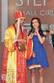 王宗堯的女友黎紀君奪最乖女主角。