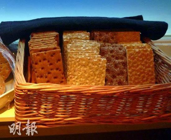 Swedish crackers (Photo taken by Chong Chiu Ching)
