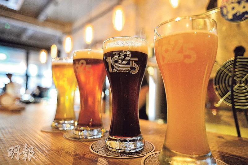 Beer is not wine. (Mingpao Photo)