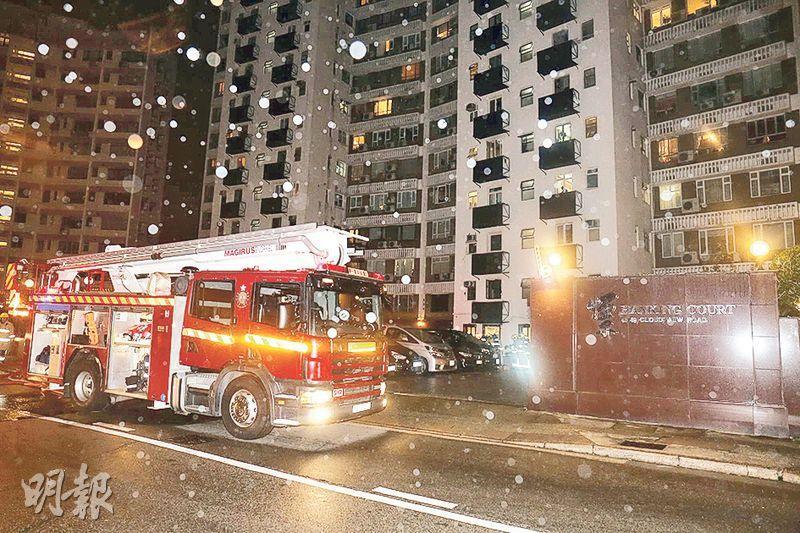北角雲景道一單位的住戶,使用電暖爐時疑因萬能蘇超負荷起火,多名住客冒寒疏散,幸事件中沒有人受傷。