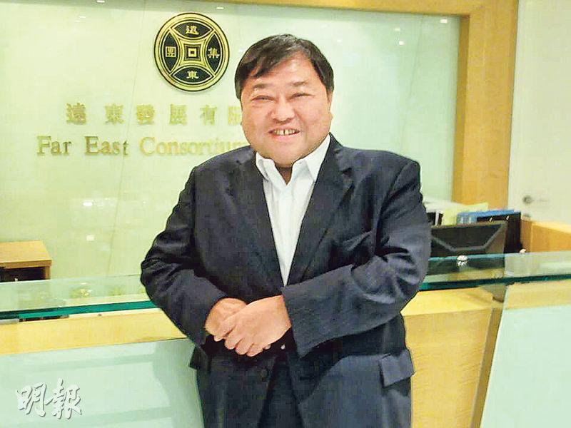 身兼永升亞洲(亞洲)股東的遠東發展主席邱達昌表示,永升未有完全放棄競投免費電視牌照,但正待公布可能有股東變動。(資料圖片)