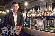 高門集團主席兼執行董事吳繩祖(圖)表示,經營會所只要定位準,可以瞬間回本。旗下VOLAR目前佔公司整體收益約64%,投資回本期需6個月。(邱曉欣攝)