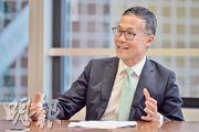 麥肯錫資深董事兼大中華區總裁倪以理認為,香港在創新創業方面過往做的都是小修小補,難以成事,政府應該給予政策傾斜,從策略上大力支持創業。(蘇智鑫攝)