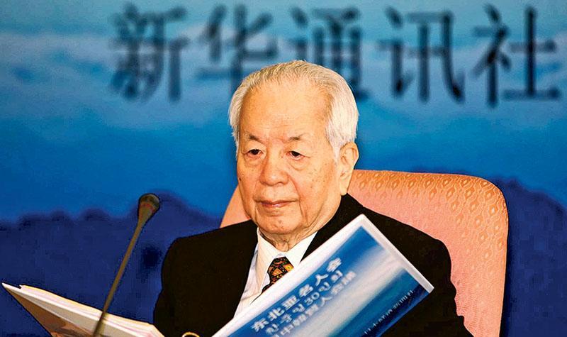 被稱為外交「教父」的國務院原副總理錢其琛(圖),因病於9日晚10時6分在北京逝世,享年90歲。(網上圖片)