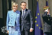 Mr and Mrs Macron