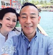 林保怡與陳慧珊10年無聯絡,難得重逢,當然要拍照留念。