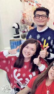 袁文傑與拍拖6年的女友張潔蓮感情穩定。(資料圖片)