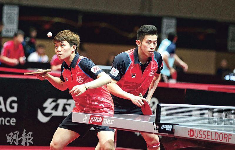 杜凱琹(左)和黃鎮延(右)是近兩屆世界賽混雙銅牌得主,證明有力在3年後的東京奧運衝擊獎牌。(資料圖片)