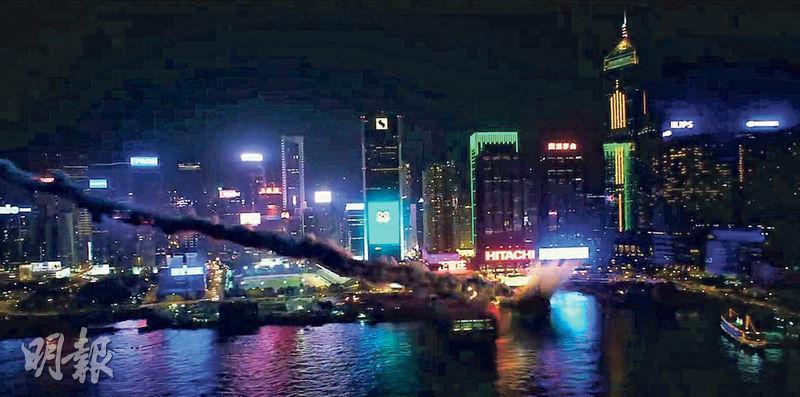不少荷李活科幻片都喜歡「襲擊」維港,《變形金剛5》亦不例外。