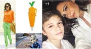 碧咸二仔羅密歐戲謔母親維多利亞造型似足《優獸大都會》兔仔茱迪手中的紅蘿蔔筆,難道不怕激嬲阿媽?