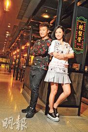 首次跟劉心悠在銀幕上合作,方力申大讚拍檔專業又勤力。(攝影:孫華中)