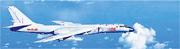 解放軍東部戰區日前派出多架軍機進行遠海長航訓練,其中一批轟六轟炸機(圖)繞台一周再返回駐地。(網上圖片)