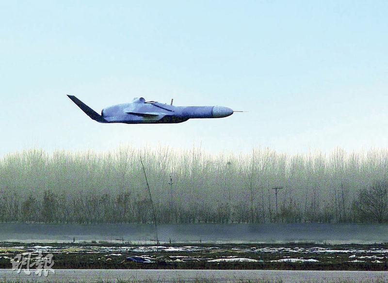 中國計劃研發的掠海無人機,能夠在距水面僅半公尺的高度上飛行,大大低於雷達探測範圍。圖為掠海無人機的概念圖。(網上圖片)