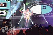 Kim Samuel相隔一個月再度來港開騷,吸引大批粉絲捧場。(攝影:劉永銳)