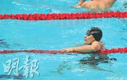 港產「入籍飛魚」杜敬謙(圖)在準決賽以總成績第5名晉級,今與中國星將寧澤濤會師決賽。(鄭嘉慧攝)