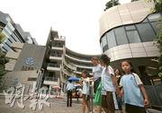 私校弘立書院加學費約6%,學費達17.7萬(小一)至22.4萬元(高中),是私立和直資中、小學當中學費較高。(李紹昌攝)