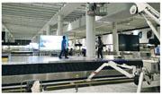 研究團隊自2014年起,在機場行李認領大堂安裝了18個攝錄鏡頭,監察各個角落的手推車供應處,助管理人員調配區域內的手推車,滿足旅客需求。 (中大提供)