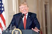 特朗普未有單方面宣布退出2015年伊朗核協議,但「撤回認可」(decertify)。(路透社)