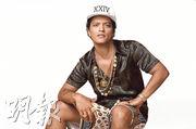 Bruno Mars包辦年度最佳藝人等最多8項提名,成為今屆熱門。