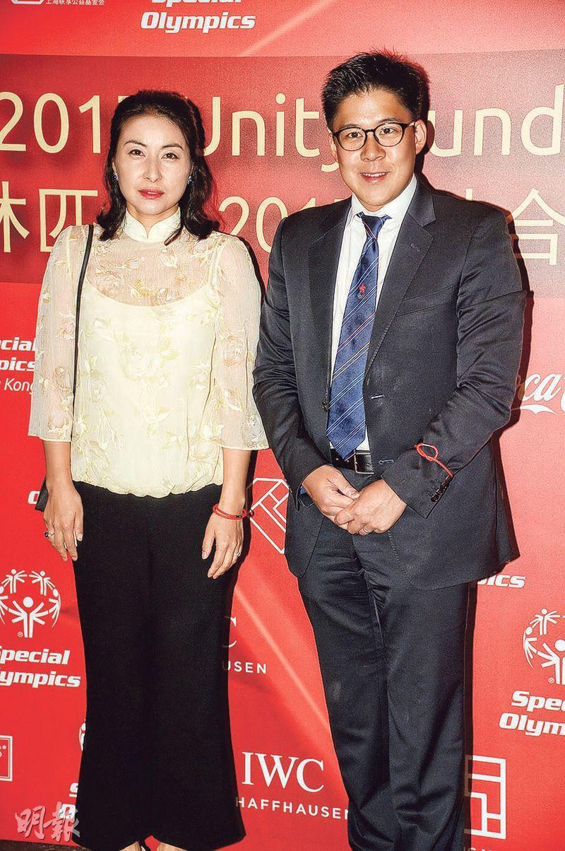 霍啓剛表示與太太郭晶晶結婚5年來很開心。(攝影:劉永銳)