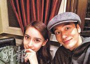 黃曉明與靚老婆Baby愈來愈有夫妻相。(微博圖片)