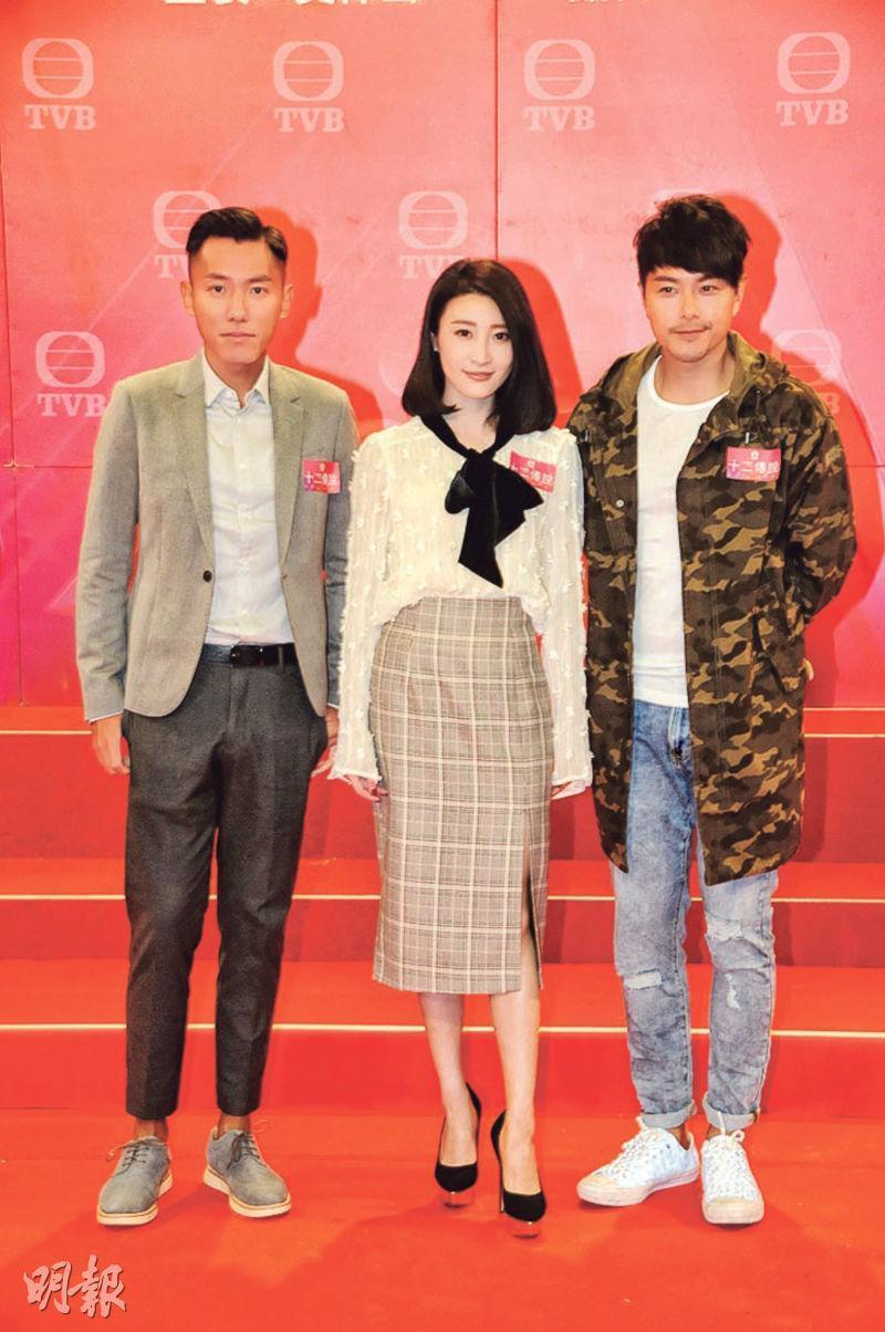 張頴康(左起)、林夏薇與蕭正楠期待合作擦出火花。(攝影/記者:林祖傑)