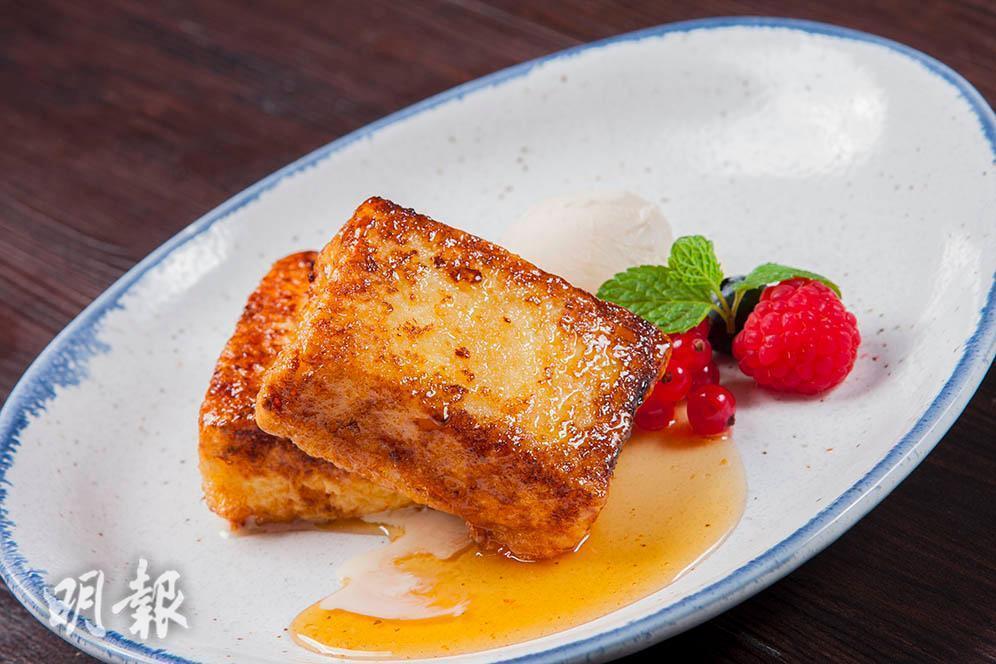 Puddings in a Hong Kong restaurant  (Mingpao Photo)
